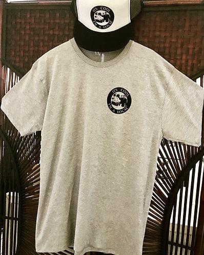 Grey front and back logo shirt