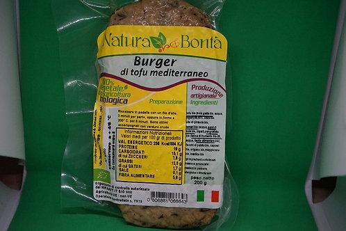 Burger di tofu mediterraneo (gr. 200)