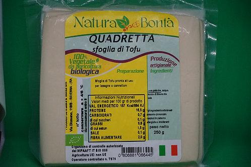 Quadretta sfoglia di tofu (gr. 250)