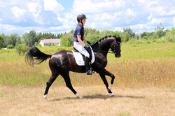 July 14 canter