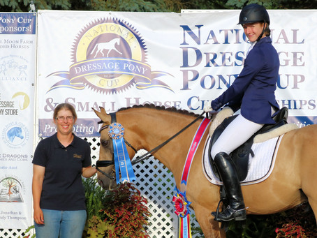 National Dressage Pony Cup Annual Show