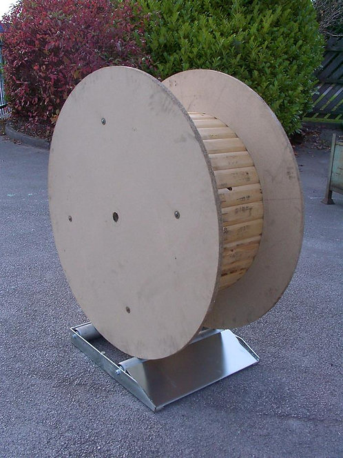 Roll-On-Cable-Drum-Rotator