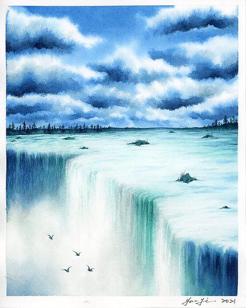 Waterfall- Daylight