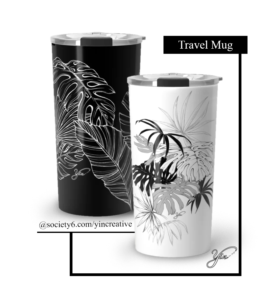 Story Template- Society 6- Travel Mug