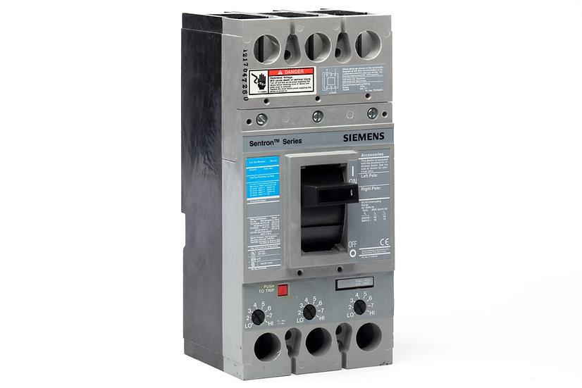 Interruptor Termomagnético FD, 250 A, 3P, 600 V marca Siemens.