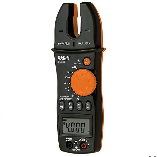 Klein Tools CL3000 Multímetro de Horquilla 200 A