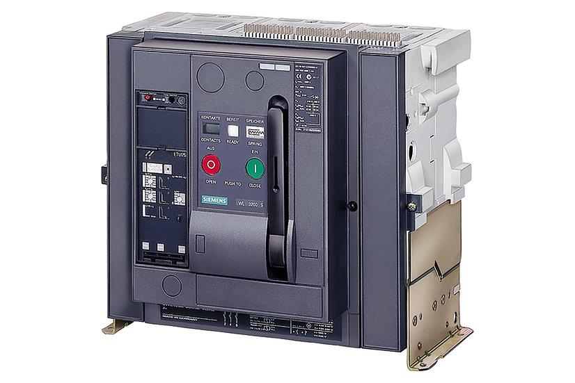 Interruptor Electromagnético 3WL , 3,200 A, hasta 690 V marca Siemens