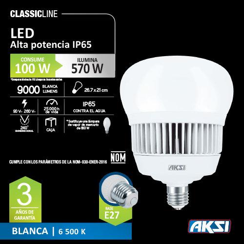 Foco AKSI de LED 100 W 127 V Bulbo