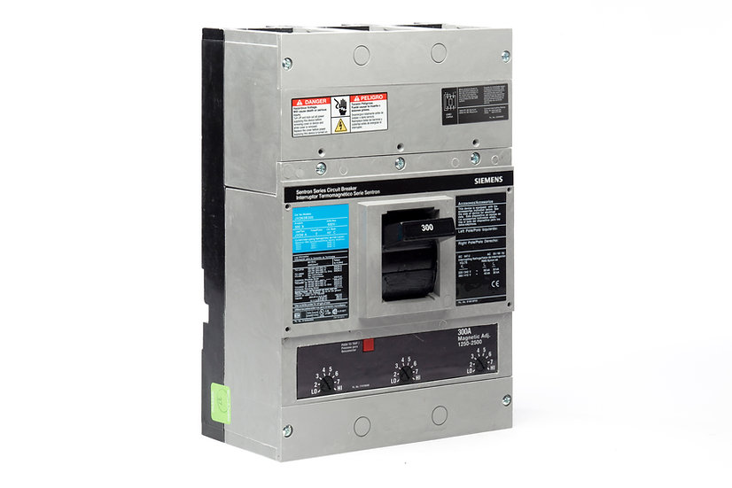 Interruptor Termomagnético JD, 350 A, 3P, 600 V marca Siemens.
