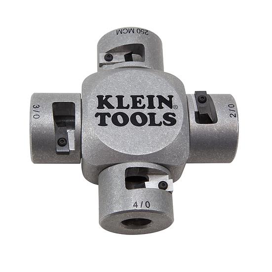 Klein Tools 21051 Pelacables para Cables de Gran Diámetro (2/0 MCM - 250 MCM)