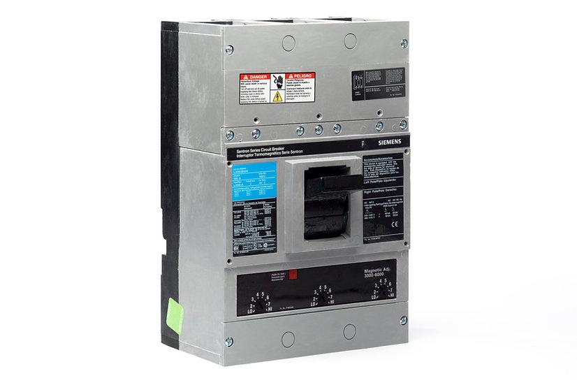 Interruptor Termomagnético LD, 600 A, 3P, 600 V marca Siemens.