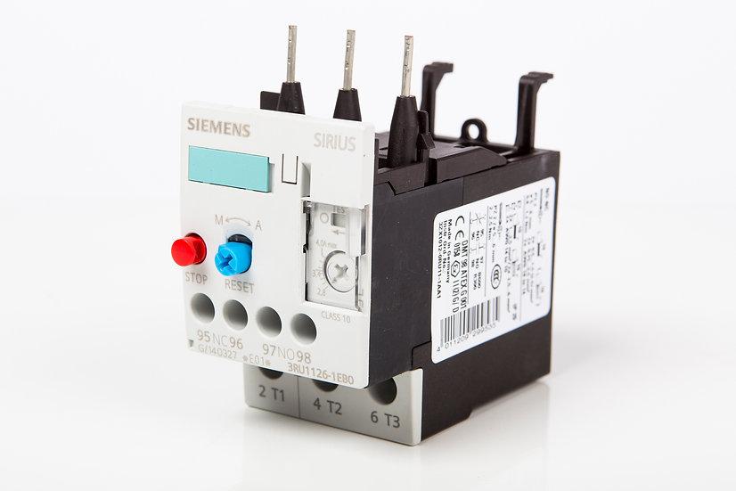 Relevado Bimetálico Siemens 2 HP @ 220 V, 5 HP @ 440 V; 5.5 - 8 A.