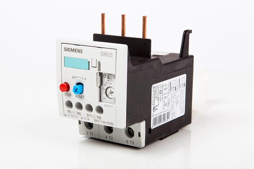 Relevado Bimetálico Siemens 3 HP @ 220 V, 7.5 HP @ 440 V; 7 - 10 A.