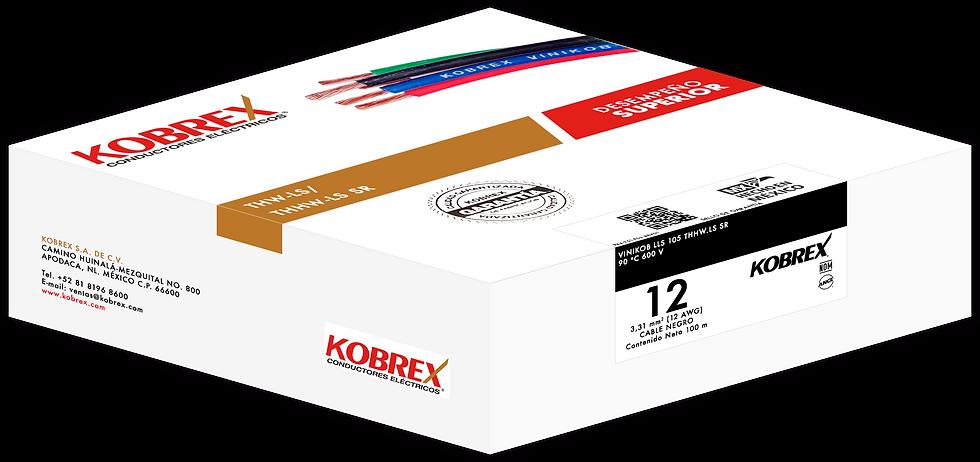 Cable THHW-LS de Cobre Calibre 12 Kobrex