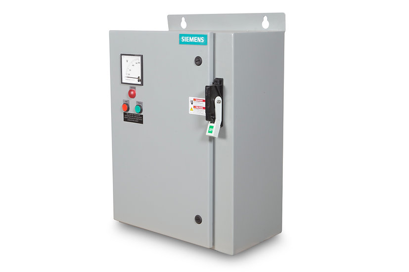 Arrancador con tensión reducida para 125 HP a 220 V AC (tipo de transformador)