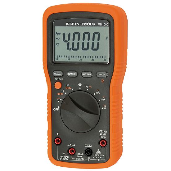 Klein Tools MM1000 Multímetro para Electricistas