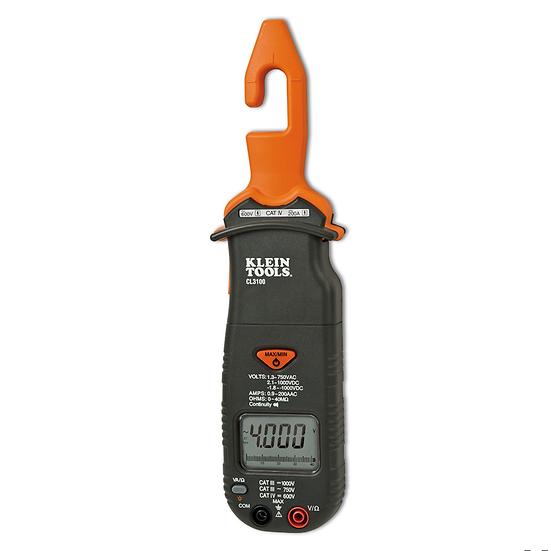 Klein Tools CL3100 Multímetro de Gancho 200 A