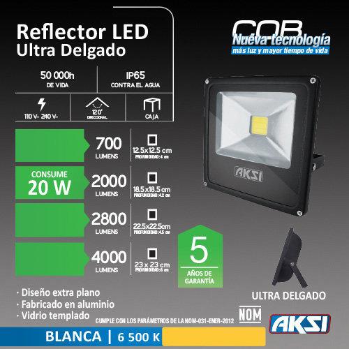 Reflector de LED AKSI 20W