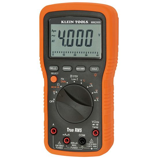 Klein Tools MM2000 Multímetro para electricistas/HVAC