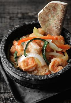 shrimp bowl noir small dark background