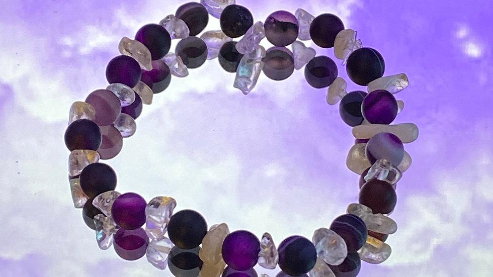 Wisteria bracelet - size small