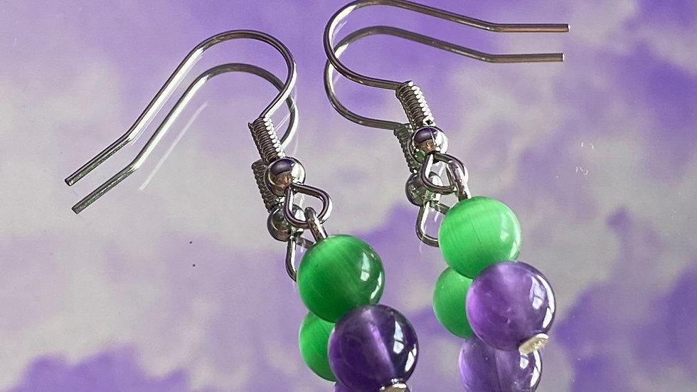 Hulk Earrings
