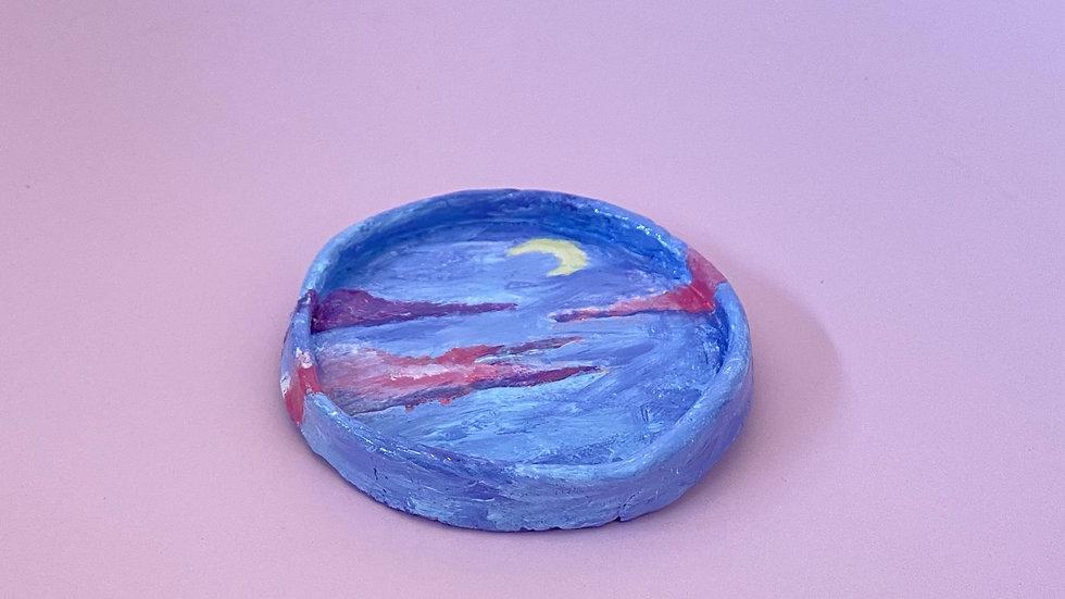 Night sky ash/ trinket tray