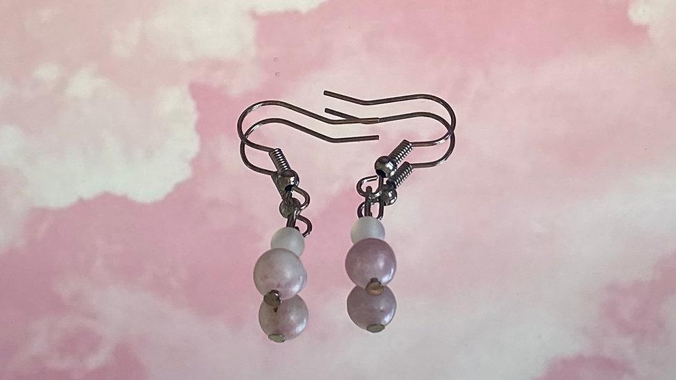 Smoky Cinzento earrings