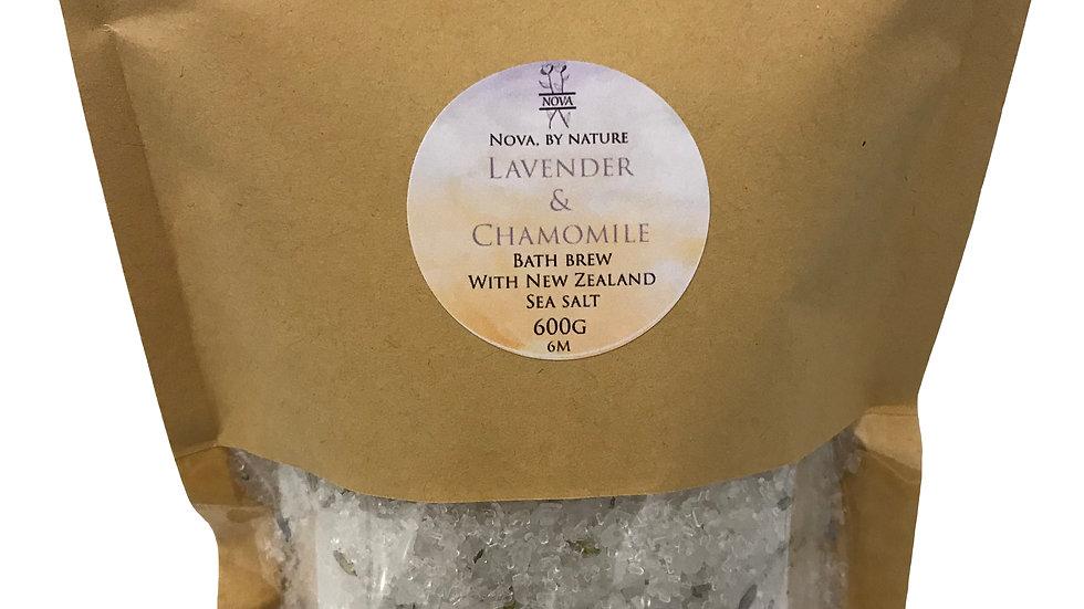 Lavender & Chamomile Bath Brew