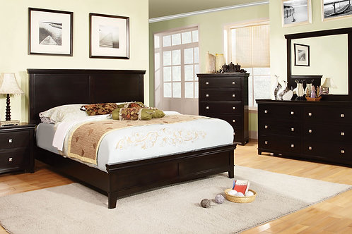 Brown Cherry 5pc. Bedroom Group