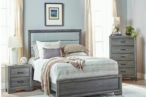 Smoke Gray Oak 5pc. Bedroom Group