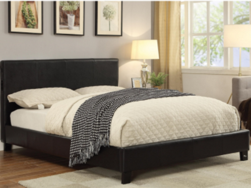 Leather Queenbed