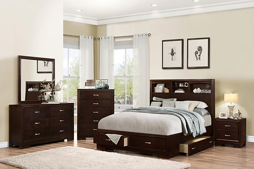 Captain Queenbed 5pc Group