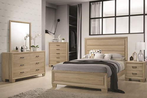 Natural Wood 5pc. Bedroom Group