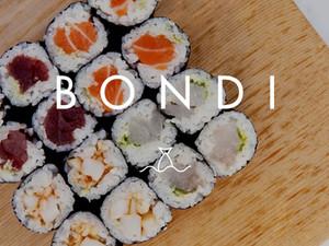 Bondi Sushi rolls with Kitopi