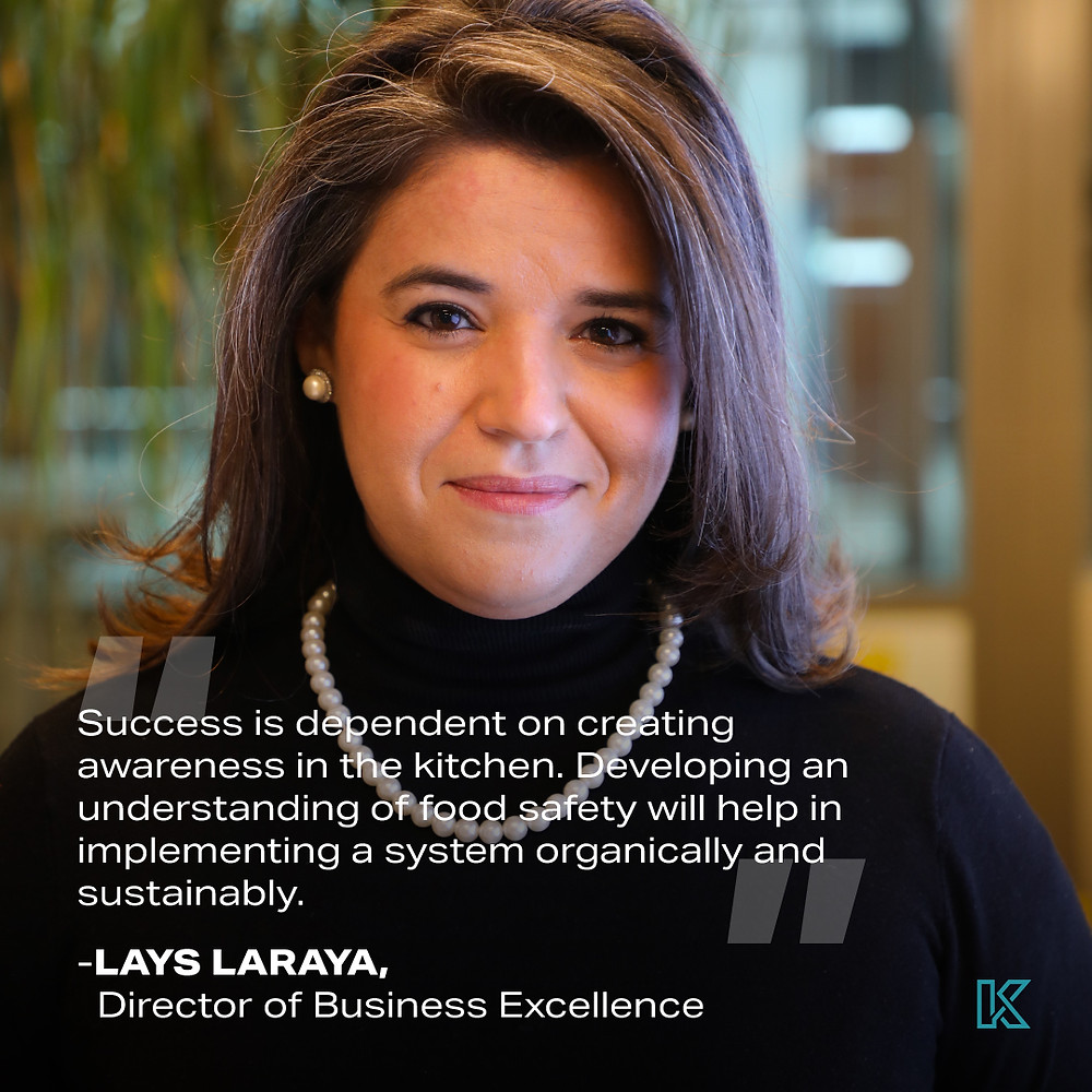 Lays Laraya - Kitopi's Director of Brand Excellence on Food Safety
