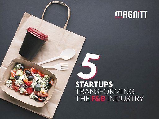 Meet the startups transforming the 2020 Food and Beverage industry