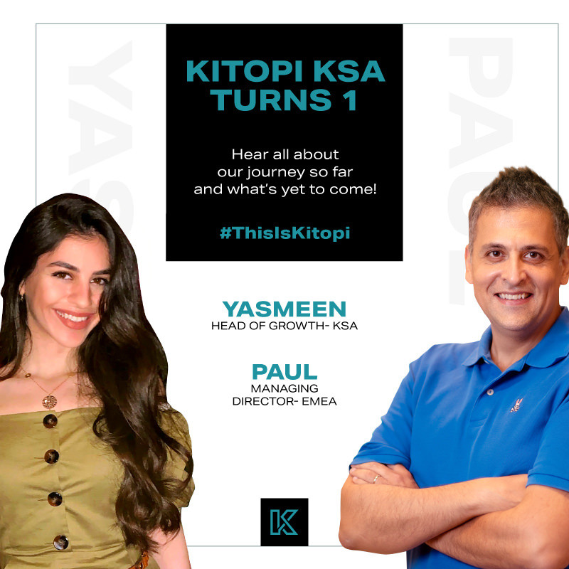 Kitopi Turns 1. Hear all about our journey so far and what's yet to come!
