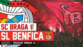 [Áudio]Sp. Braga x Benfica | RESCALDO J24
