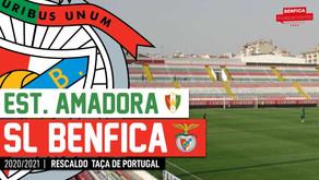 [Áudio]Est. Amadora x Benfica | RESCALDO Taça de Portugal