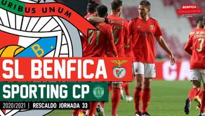 [Áudio]Benfica x Sporting | RESCALDO J33