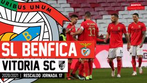 [Áudio]Benfica x Vitória Guimarães | RESCALDO J17