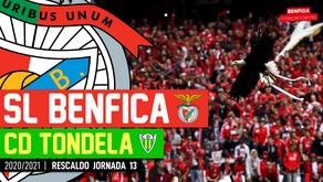 [Áudio]Benfica x Tondela | RESCALDO J13