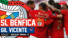 [Áudio]Benfica x Gil Vicente | RESCALDO J27