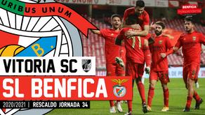 [Áudio]Vitória Guimarães x Benfica | RESCALDO J34