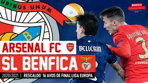 [Áudio]Arsenal x Benfica | RESCALDO LIGA EUROPA