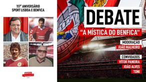 "[Áudio]Debate ""A Mística do Benfica"" | FESTIVAL 1904"