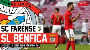 [Áudio]Farense x Benfica | RESCALDO J20