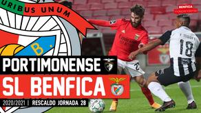 [Áudio]Portimonense x Benfica | RESCALDO J28