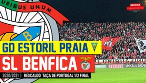 [Áudio]Estoril x Benfica | RESCALDO Meia Final da Taça de Portugal